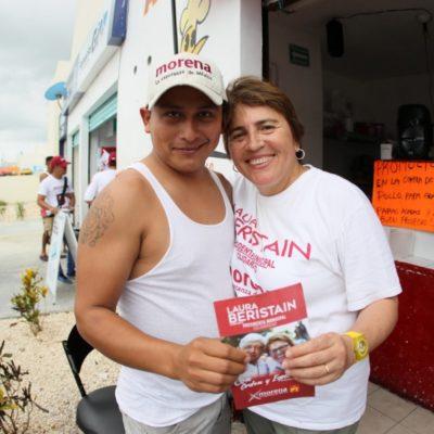 Laura Beristain considera que el sistema de drenaje y alcantarillado em Playa del Carmen debe ser atendido ya