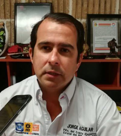 """Jorge Aguilar Osorio elogia el trabajo proselitista de los candidatos de la alianza MC-PAN-PRD y asegura que ganarán """"porque son los mejores"""""""