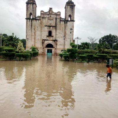 Sabán registra inundaciones de hasta 85 centímetros