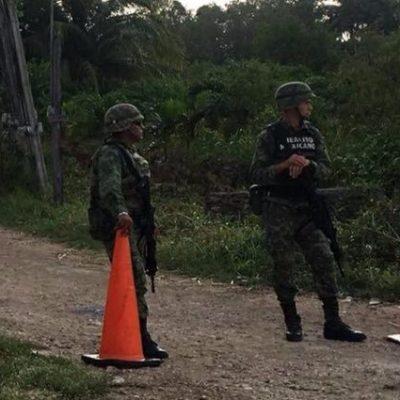 EJECUTADO AHORA EN XUL-HA: Hallan cuerpo de un hombre a un costado de edificio de la Conasupo