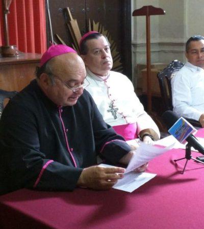 Piden a sacerdotes yucatecos no aceptar regalos en elecciones, ni para la iglesia ni para sus personas
