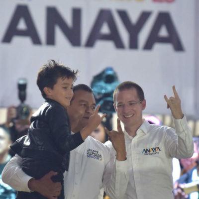 Abandonan asistentes mitin de Anaya, pero Zepeda insiste en ofrecerle 3 millones de votos en Edomex