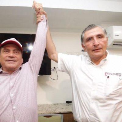 Abandona candidato del PVEM la contienda por la gubernatura y se suma a Morena-PES-PT en Tabasco