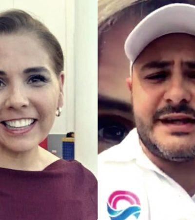 """""""YA ES HORA DE QUE DEJES DE COLGARTE DE ANDRÉS MANUEL"""": Issac Janix, candidato independiente por Cancún, recrimina a Mara Lezama su inasistencia a un foro y la reta a debatir"""