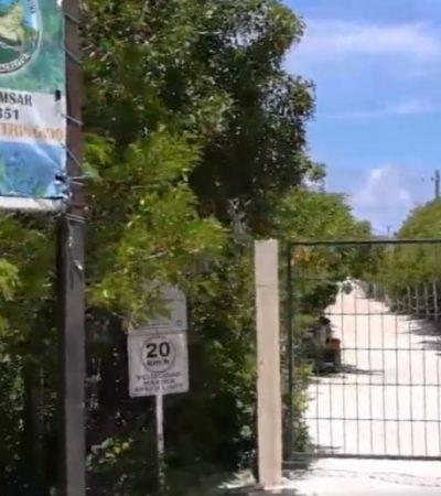 Grupo Ecologista del Mayab pedirá que se anule el pago de acceso a Xcacel-Xcacelito para personas de Akumal y Chemuyil