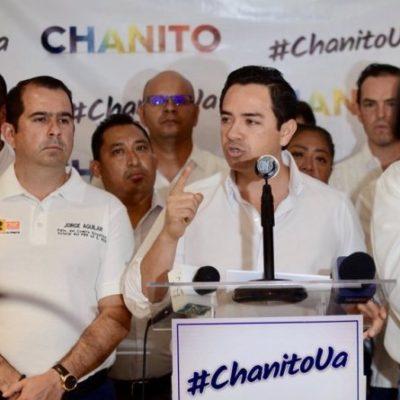 Que 'Chanito' Toledo no logró ser candidato a la Alcaldía de Cancún, pero se convirtió en 'líder moral' del PRD, dicen