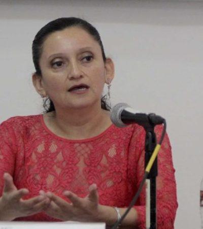 Ningún candidato ha pedido reforzar su seguridad, asegura vocal ejecutiva del INE en Quintana Roo