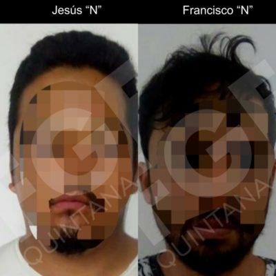 FGE vincula a proceso a dos sujetos por el delito de robo con violencia en Playa del Carmen