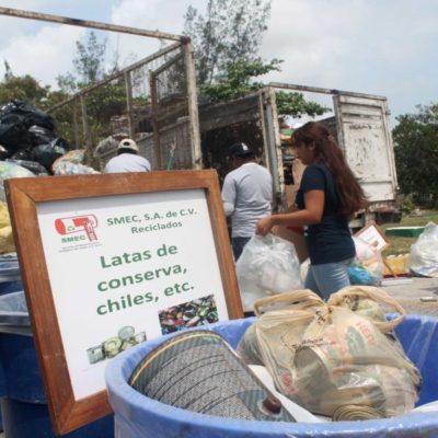 Más de 13 mil personas han sido beneficiadas con el taller de manejo de residuos sólidos, en Cancún