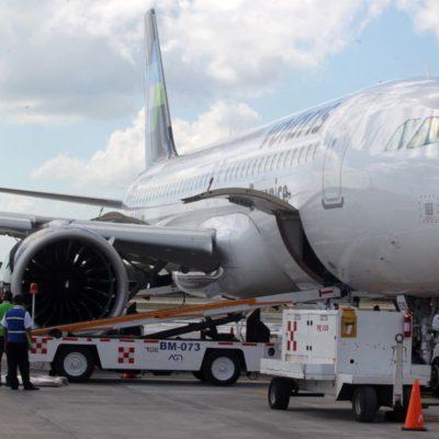 Gestiona la Secretaría de Turismo la apertura de rutas aéreas de Chetumal hacia Monterrey, Toluca, Guadalajara y Ciudad de México