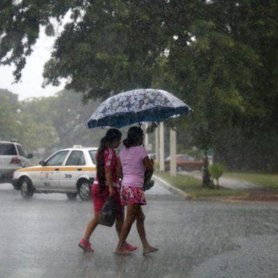 Onda Tropical traerá lluvias a la Península de Yucatán, pero seguirán las altas temperaturas