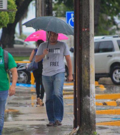 Zona de inestabilidad y Onda Tropical favorecerían fuertes lluvias durante los próximos días en varios puntos de la Península de Yucatán.