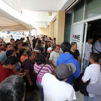 Exhorta INE a ciudadanos que solicitaron reimpresión de credenciales a que acudan a recogerlas; en caso de no hacerlo, no podrán votar este 1 de julio