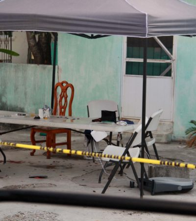 INTENTO DE EJECUCIÓN EN ZONA LIMÍTROFE DE CANCÚN: Ataque a balazos deja dos mujeres priistas heridas en zona continental de Isla Mujeres; una es candidata a regidora con Juan Carrillo