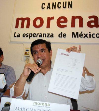 Impugna Morena medida cautelar para retirar propaganda de su candidato en OPB en la que aparece junto a López Obrador