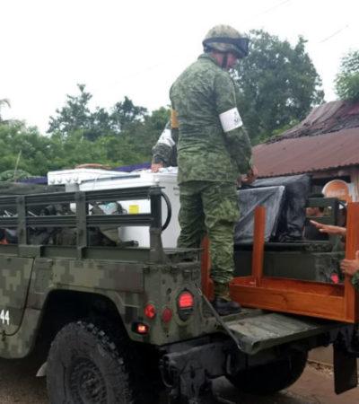 Emite gobierno federal declaratoria de emergencia sólo para cinco municipios de Quintana Roo afectados por las lluvias