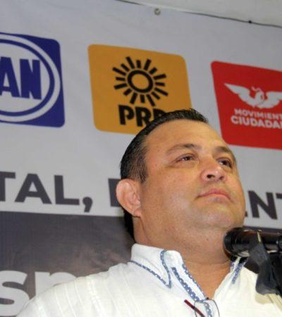 """""""Los ciudadanos somos despreciados"""", afirma Carlos Gosselin, luego de que el TEPJF 'bajara' a Eloy Peniche del cargo de candidato a la presidencia de BJ"""