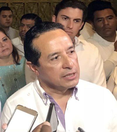 """DEFIENDE CARLOS JOAQUÍN LA RENTA DE PATRULLAS: """"En varios países ya se utiliza este sistema"""", dice Gobernador"""