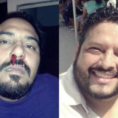 AFLORAN 'TENSIONES' EN LAS CAMPAÑAS: Denuncia militante a Alejandro Luna por lesiones durante una reunión de trabajo del PES en Cancún
