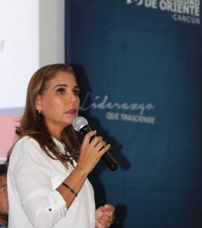 Plantea Mara Lezama incorporar tecnología de última generación en seguridad para Cancún