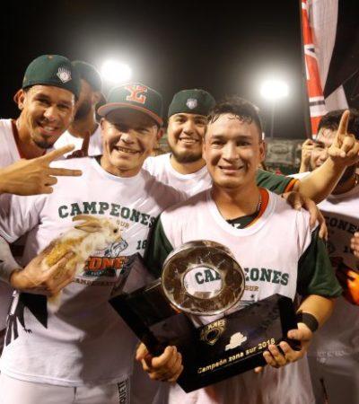 Eliminan a Tigres de QR y los Leones de Yucatán son los nuevos campeones de la Zona Sur y van a la Serie del Rey