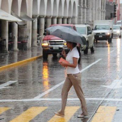 Prevén calor, viento y lluvias en el Golfo de México y la península de Yucatán