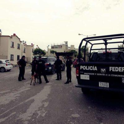 Operativo de la Policía Federal en Villas Otoch Paraíso, uno de los 'focos rojos' de la violencia en Cancún
