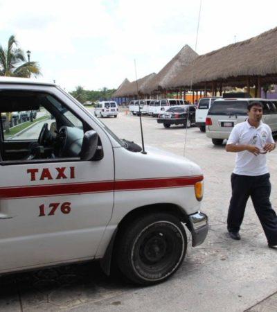 Taxistas de Cozumel preparan asamblea para hablar sobre la Ley de Movilidad