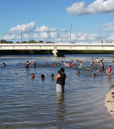 Se ahoga niño bañista en balneario de Champotón