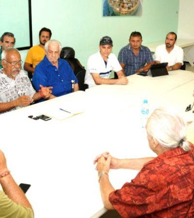 Formalizan la creación del Protocolo Puerto Morelos para enfrentar la contingencia del arribo masivo del sargazo