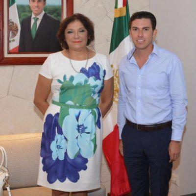 Se reúne Remberto Estrada con Fiscal Anticorrupción