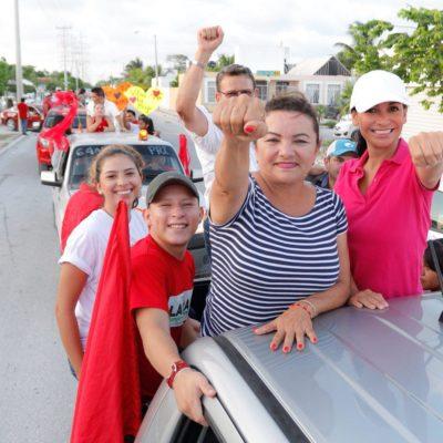 Confirma conteo triunfo de Laura Fernández en Puerto Morelos