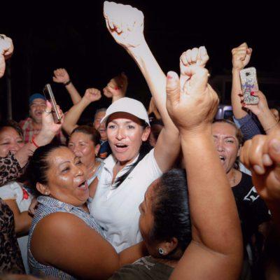 ANUNCIA LAURA TRIUNFO: La candidata del PRI-PVEM regresaría a Puerto Morelos como presidenta municipal
