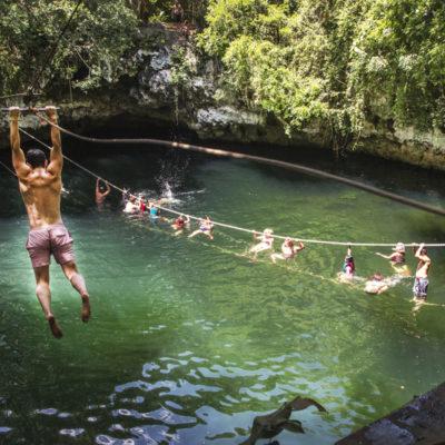 El gobierno de Puerto Morelos refuerza promoción de la Ruta de los Cenotes en ferias turísticas