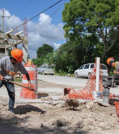 Implementan programa de limpieza de pozos en Puerto Morelos