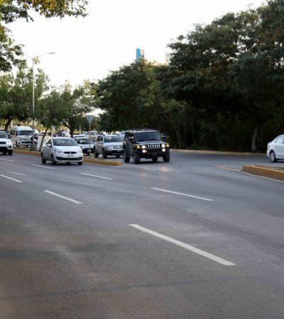 Pavimentó Remberto Estrada el equivalente a la cuarta parte del territorio de Isla Mujeres