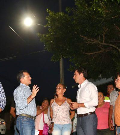 Supervisa Remberto Estrada avance de histórico plan de obras en Cancún