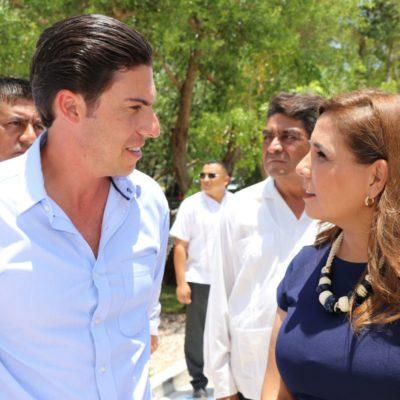 Acuerdan Mara Lezama y Remberto Estrada iniciar este martes el proceso de entrega-recepción