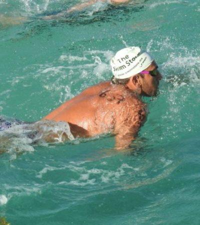 Fernando Betanzos va por su sueño en Barranquilla; el nadador quintanarroense competirá el domingo en la prueba de aguas abiertas en los Juegos Centroamericanos y del Caribe