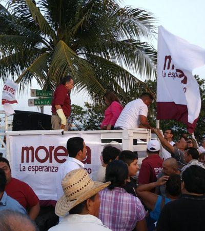 'CARAVANA DEL TRIUNFO' EN CHETUMAL: Considera Pech Várguez que la ciudadanía cobró el incumplimiento de promesas del actual gobierno