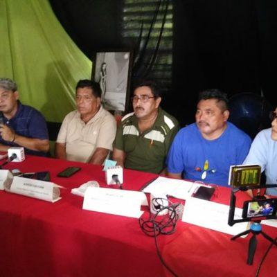 Campesinos de QR y Yucatán confirman amparo contra el Acuerdo para la Sustentabilidad de la Península de Yucatán, firmada por los actuales gobernadores de la Península