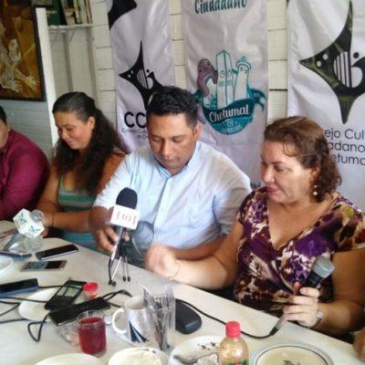 Gremio artístico crea el Consejo Cultural Ciudadano de Chetumal; buscan defender la cultura y evitar que se use como favor político