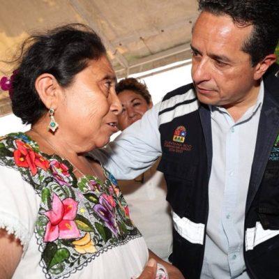 Más de tres mil 460 personas de 18 localidades mayas se benefician con baños ecológicos