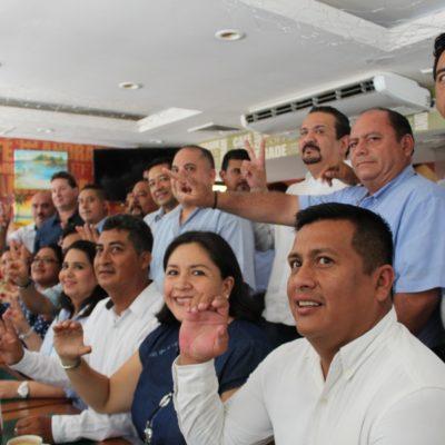 Panistas se unen para respaldar la supuesta victoria de Cristina Torres en Solidaridad; aseguran que el triunfo fue 'contundente'