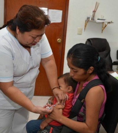 Descarta la Secretaría de Salud riesgo en Quintana Roo por influenza, aseguran que hay una buena cobertura de vacunación
