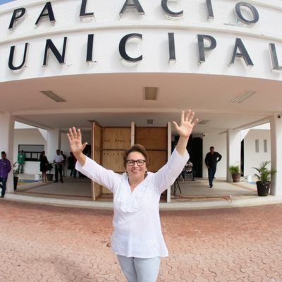 Acusa PRD a Laura Beristain de trabajar junto a Félix González Canto para ganar en las elecciones locales