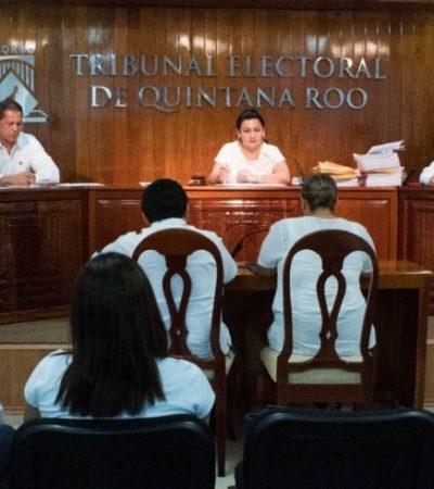 Recibe el Teqroo nueve juicios de nulidad de la elección para ayuntamientos; Puerto Morelos, Solidaridad, Bacalar y FCP