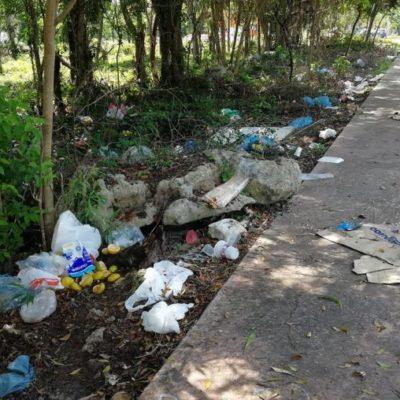 Feria del Carmen 2018 se va, pero deja basura en espacios de selva y avenidas principales de la ciudad; vecinos exigen que el Ayuntamiento se haga cargo