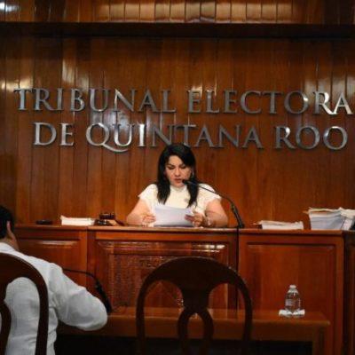 """Teqroo declara inexistentes las causas denunciadas por el PVEM y PRD al interponer procedimiento especial sancionador en contra de Juan Pablo Aguilera, la coalición """"Juntos haremos historia"""" y Romalda Dzul"""