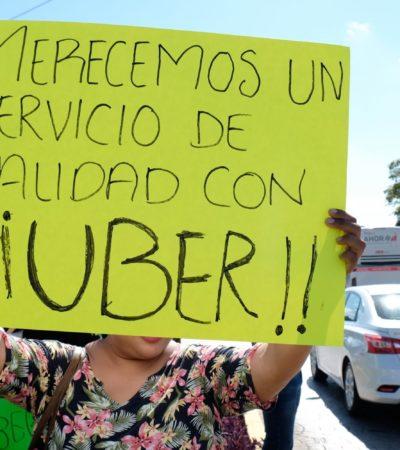 SIGUEN DE FRENTE CON LEY DE MOVILIDAD: Descarta Secretaría de Gobierno retirar propuesta de reformas cuestionadas por Uber, aunque dicen seguir dispuestos al diálogo